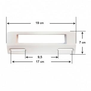 Tirador Puerta Frigorífico UNIVERSAL 19x7 cm (Blanco)