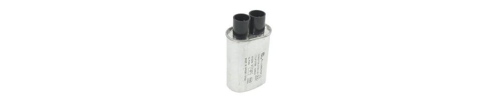 Condensadores y diodos microondas